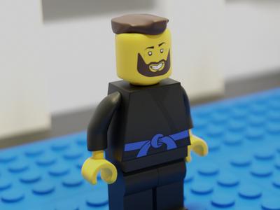 Lego BJJ Minifig