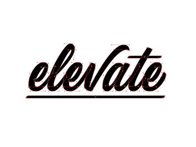 Elevate goodtype beziers vector logotype lettering art type handlettering lettering