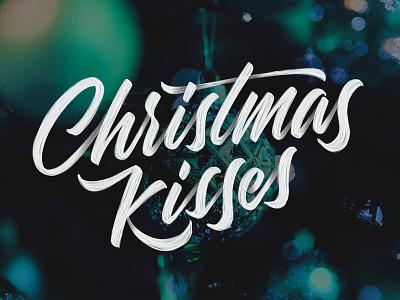 Christmas Kisses - Marty Robbins typography ipad type ipadlettering handtype ipadpro typedesign applepencil procreate script handlettering lettering