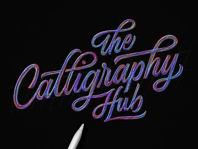 The Calligraphy Hub - Artist Profile Series typedesign procreate applepencil script handlettering letttering ipadlettering handtype type lettering thecalligraphyhub tchartistprofile