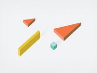Branding explorations in 3D
