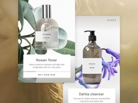 Azalea product screens