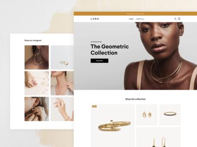 Square online store - Luna retail template