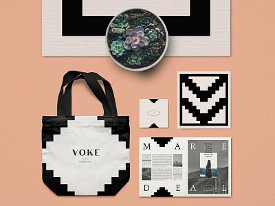 Voke Brand Development businesscards corporateidentity logo vector brandidentity