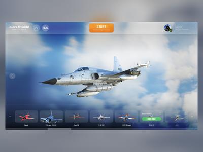 MAC main menu concept