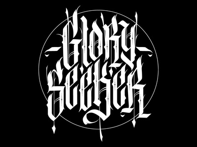 Custom Lettering Glory Seeker By Jared Mirabile
