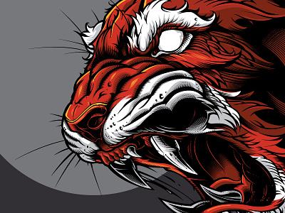 Tiger vector vector sweyda beast vector tiger vector illustration tiger