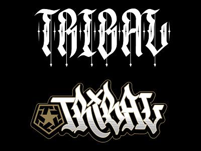 Tribal Gear custom lettering type custom lettering lettering jared mirabile tribal streetwear tribal clique sweyda tribal gear