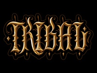 Tribal Gear custom lettering