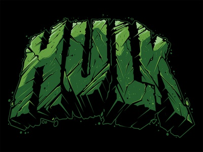 Hulk Lettering Hulk Smash Hulk Vector Marvel Illustration Custom hulk lettering illustration custom type hand lettering hulk vector hulk smash hulk lettering