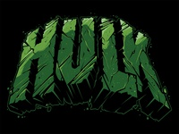 Hulk Lettering Hulk Smash Hulk Vector Marvel Illustration Custom