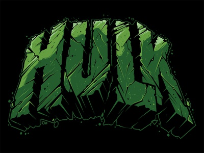 Hulk Lettering Hulk Smash Hulk Vector Marvel Illustration Custom hulk lettering illustration custom type hand lettering hulk vector hulk smash hulk lettering