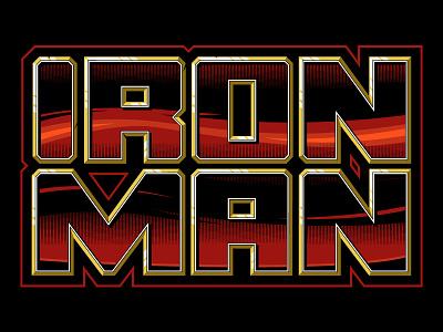 Iron Man Lettering Hand Lettering Custom Lettering Sweyda Marvel custom type iron man custom lettering marvel lettering sweyda custom lettering hand lettering iron man lettering
