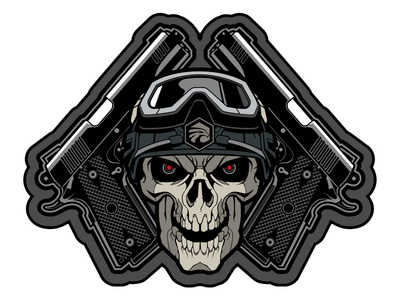Morale Patch for Urban Operator pvc patch urban operator sweyda skull patch army patch military patch morale patch