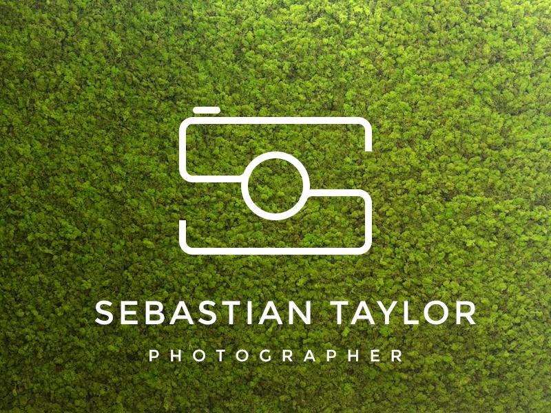 Logo Photography - Letter S logo type photography minimal s personal dalex logo
