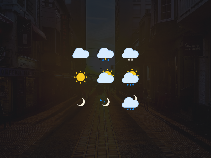 Weather Icons - Workout - Free Icons freebie free flat design simple icons sketoneto dalex weather free incons