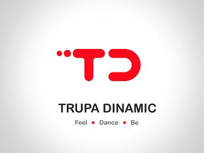 Logo - Trupa Dinamic td d t logotype red logo