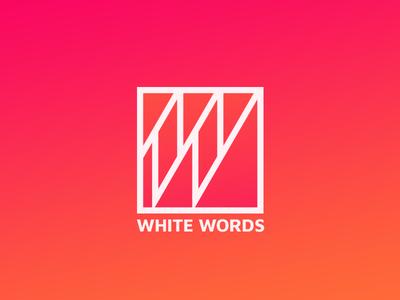 White Words Logo
