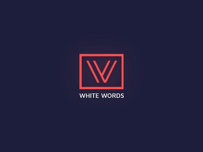 White Words Logo V2