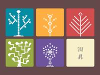 Tree Pictogram Challenge Day 8