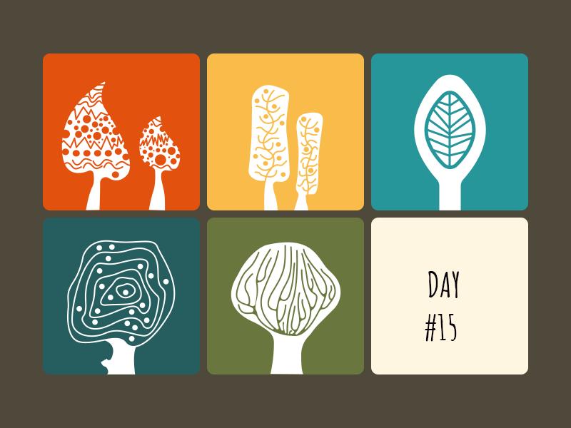 Tree pictogram challenge day 15