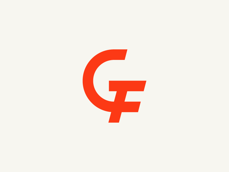G And F Letters Logo Search By Muzli