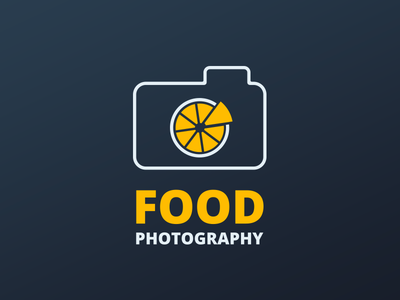 Food Photography Logo sketoneto alexandru dragos dalex orange lemon food photography logo food logo logo food photography