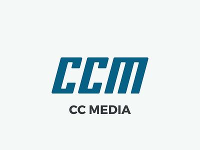 Logo CC Media - V6 dragos.space dragos logotype type letters logo media cc ccm