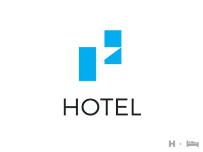 Letter H - Logo Hotel