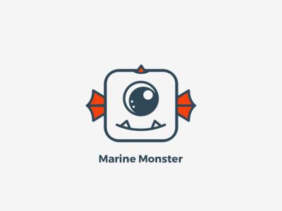Logo - Marine Monster