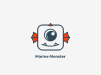 Logo - Marine Monster