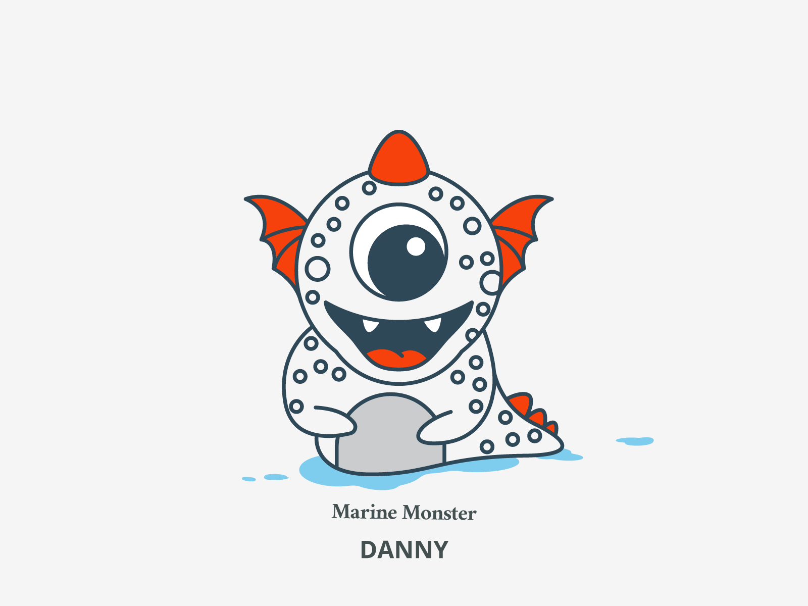 Danny marine monster