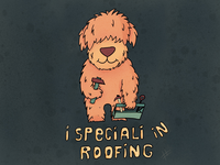 Roofing Dog
