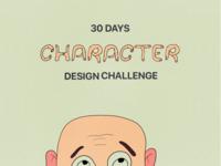 30 Days Character Design Challenge