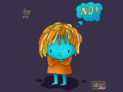 Stubborn Girl - Day #6 Challange