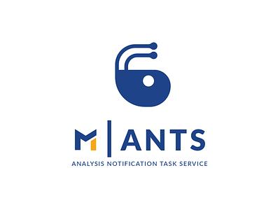 Logo M|Ants branding dragos alexandru metrosystems design logo ants m ants