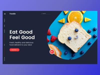 Foodie - Header Exploration