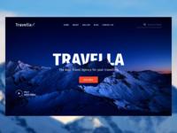 Travella: Travel Agency Landing Page