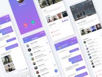 Tango Message App UI Kit
