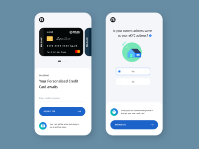 Credit Card Application Concept