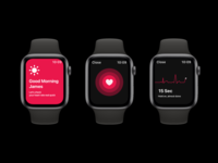 Heart Rate Monitor Concept for Iphone