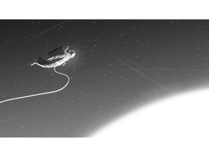 I need some space II background visualdevelopment storyboard planet space astronaut speedpainting illustration