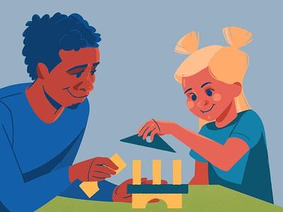 Building the future of railways - UNIFE father child characterdesign animation visualdevelopment illustration