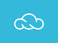 Cloudy Services Logo (Infinite Cloud)