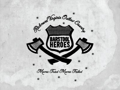 Barstool Heroes Badge Logo