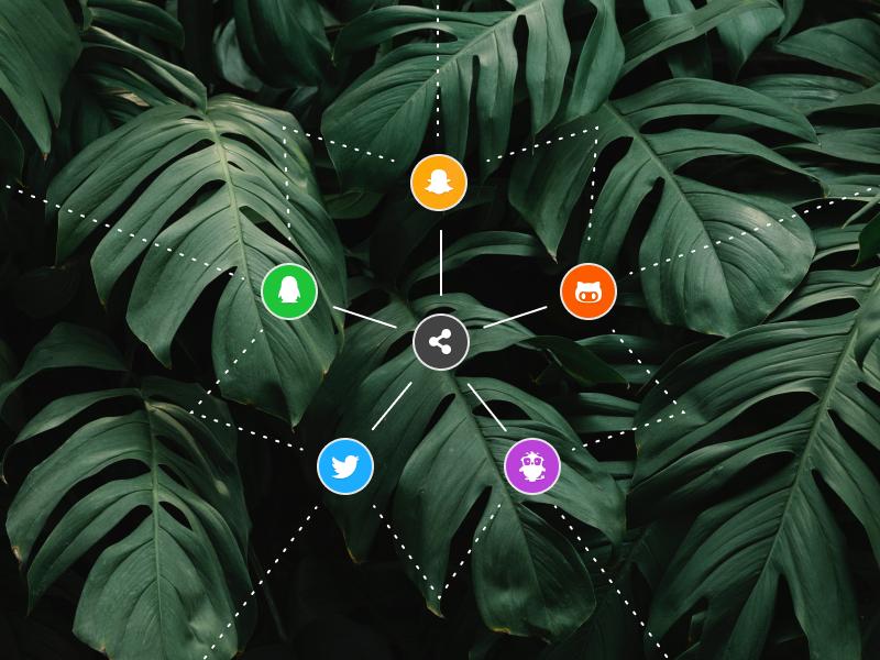 DAILY UI - #010 - Social Share share button button icon social share social daily ui 010 daily ui