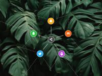 DAILY UI - #010 - Social Share