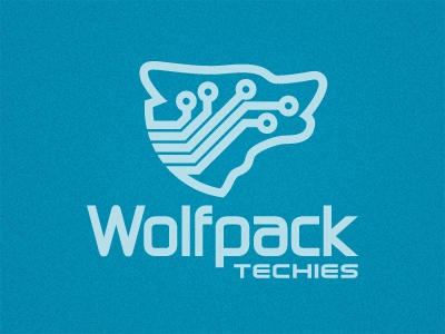 Wolfpacktechies logo display