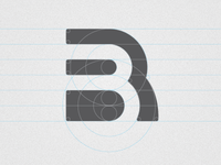 BR Monogram with grid