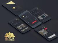 Mazay Branding Mobile App Design